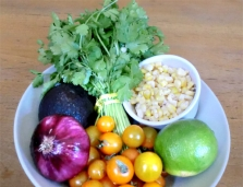 Summer Salad Ingredients
